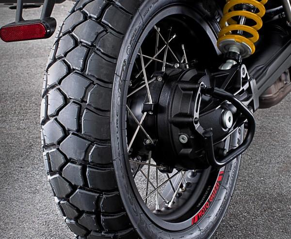 Kardanschutzbügel, schwarz V85 TT original Moto Guzzi