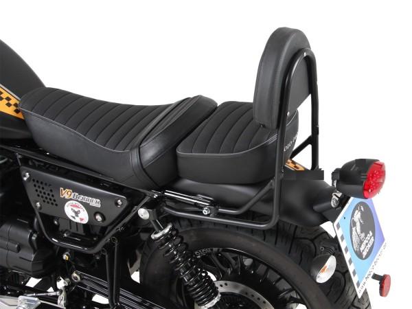 Sissybar ohne Gepäckbrücke schwarz für V 9 Roamer (Bj.17-) Modell mit langer Sitzbank