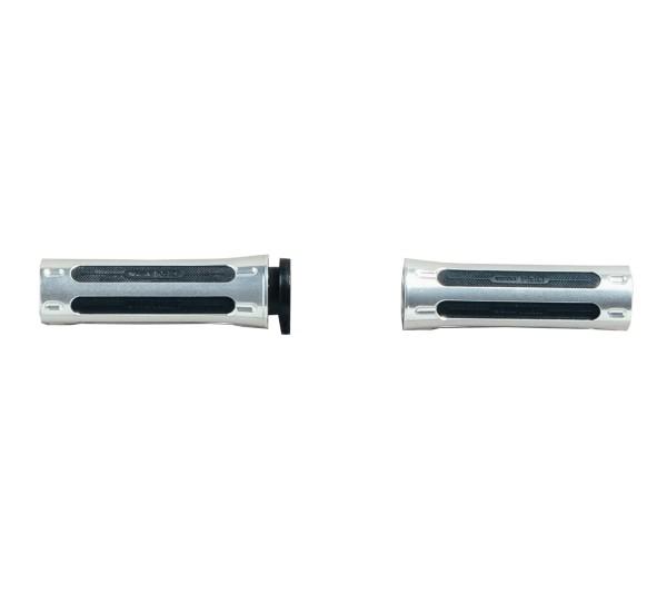 Griffgummisatz, Aluminium Moto Guzzi für V9 Roamer / Bobber