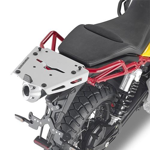 Topcase Träger Aluminium für Moto Guzzi V85 TT (Bj.19-) Original Givi