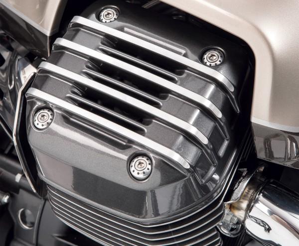 Original Abdeckung für Zylinderkopf, grau für Moto Guzzi Audace/ California/ Eldorado