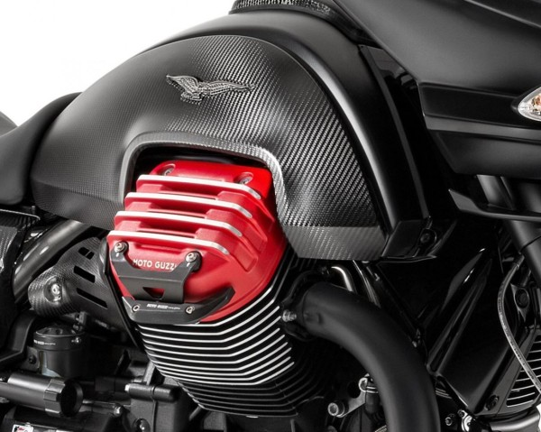 Aluminium Schutzbügel, schwarz für Moto Guzzi MGX 21