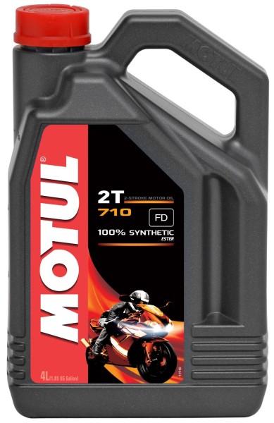 Motul 710 2T Vollsynthetisches Motorenöl - 4 Liter