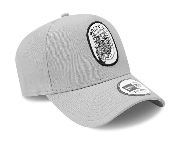 Moto Guzzi Cap NEW ERA 9FORTY® A-Frame Tracker, grau