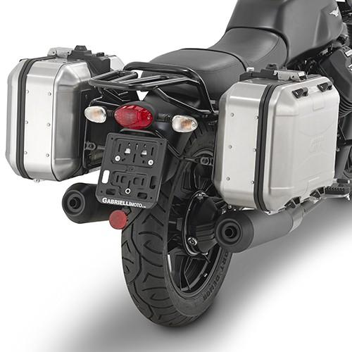 Seitenkofferträger für Moto Guzzi V7 III Special (Bj.17- ) Original Givi