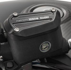 Deckel, Aluminium, schwarz für Moto Guzzi MGX 21