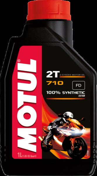 Motul 710 2T Vollsynthetisches Motorenöl - 1 Liter