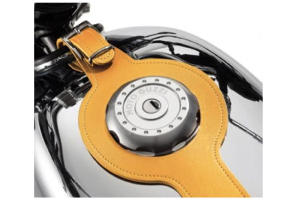 Tankriemen, braun, Leder für Moto Guzzi V7 III