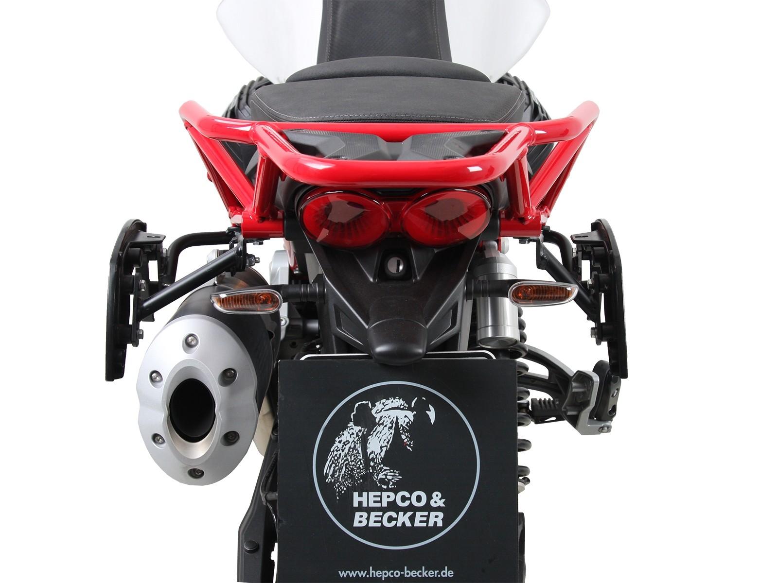 C-Bow Seitenträger Schwarz Für V85 TT (Bj.19-) Original
