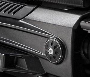 Abdeckkappe, Aluminium, schwarz für Moto Guzzi MGX 21 / Audace