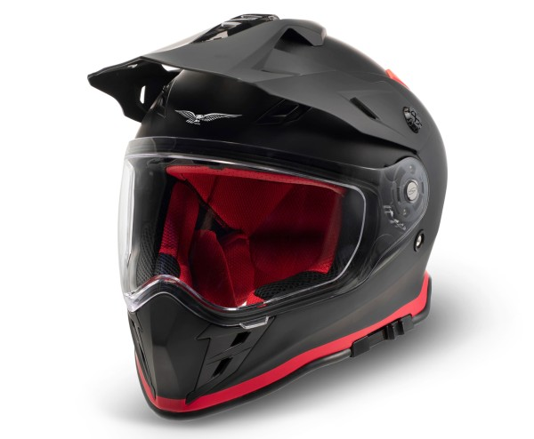 Moto Guzzi Adventure Touring Helm V85TT schwarz