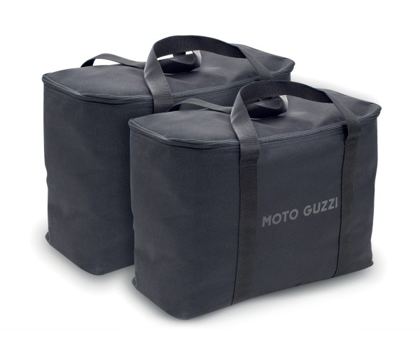 Original Innentaschen für Aluminium Seitenkoffer Moto Guzzi V85 TT