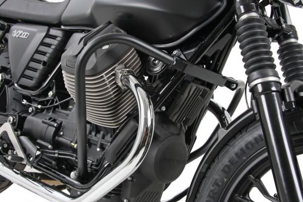 Motorschutzbügel schwarz für V 7 II (Bj.15-) Original Hepco & Becker