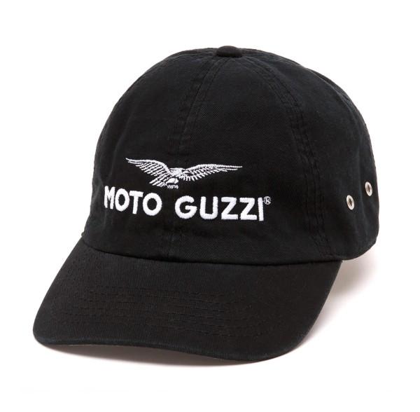 Moto Guzzi Base Cap THE CLAN schwarz