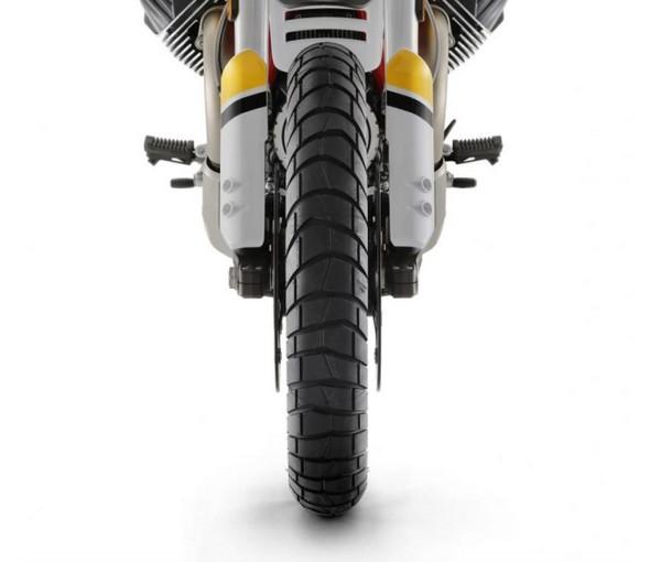 Sport Adventure Reifen vorne Michelin Moto Guzzi V85 TT