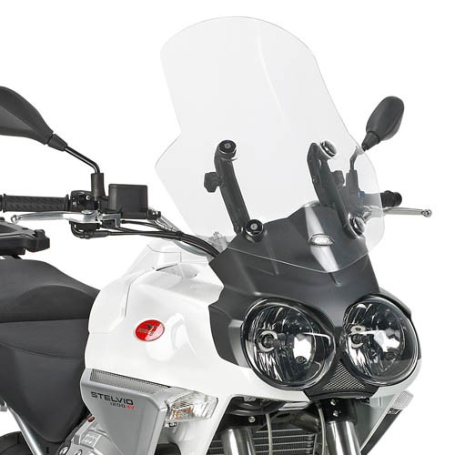 Windschild transparent für Moto Guzzi Stelvio 1200 (Bj.08-10) Original Givi