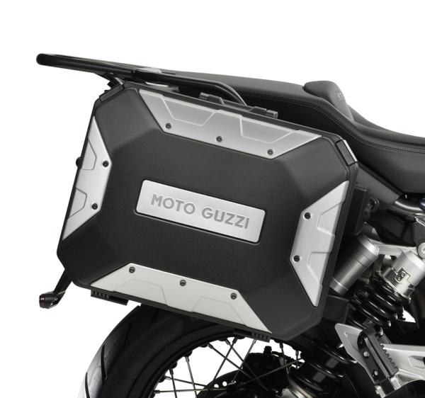 "Aluminium Seitenkoffer (Satz) ""URBAN"" für Moto Guzzi V85 TT"