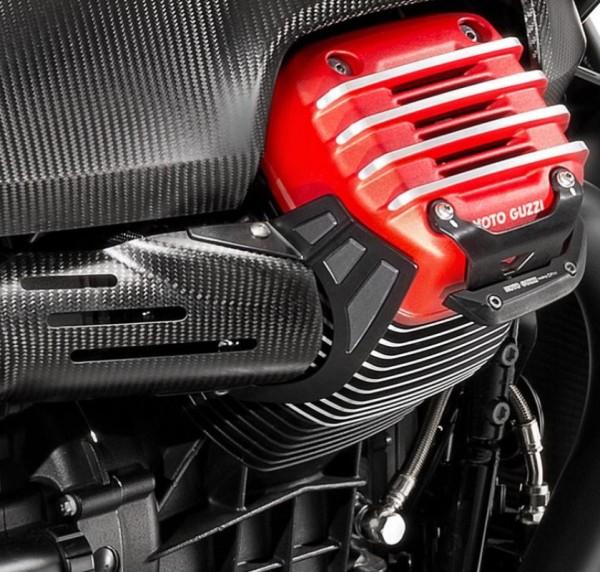 Hitzeschutz, Edelstahl für Moto Guzzi MGX 21