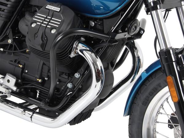Motorschutzbügel schwarz für V 7 III stone/ special/ Anniversario/ Racer (Bj.17-)