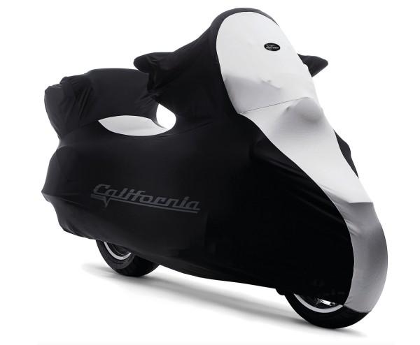 Original Faltgarage Indoor, Moto Guzzi California, schwarz, weiß