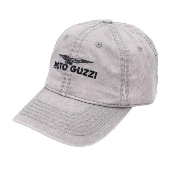 Moto Guzzi Base Cap Kinder grau