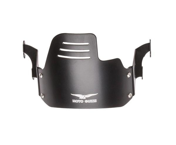 Original Scheinwerferabdeckung, schwarz für Moto Guzzi V9 Bobber