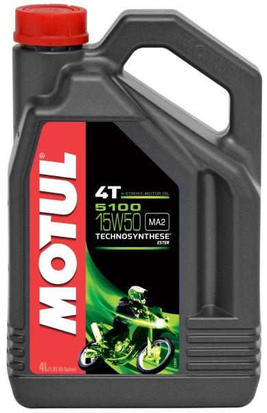 Motul 5100 15W50 4T Motorenöl - 4 Liter