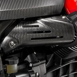 Original Abdeckung für Einspritzdüsen, Carbon für Moto Guzzi MGX 21/ Audace