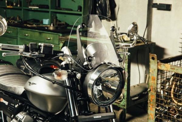 Scheinwerferrahmen, chrom für Moto Guzzi V7 III/ V9 Bobber/ V9 Roamer