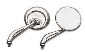 Original Spiegel, Aluminium, silber für Moto Guzzi Eldorado